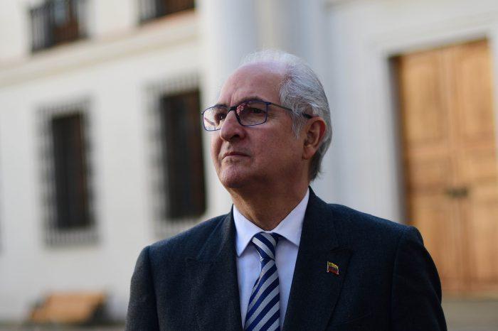 Ledezma plantea a Guaidó pasos a seguir por embargo económico