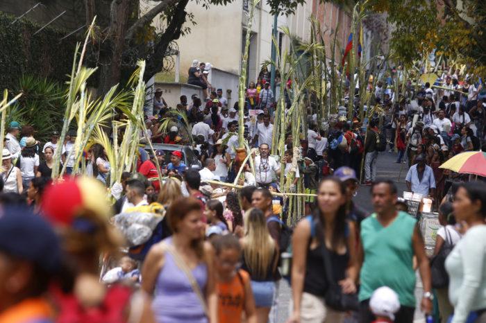 Venezolanos renuevan esperanza en el inicio de la Semana Santa