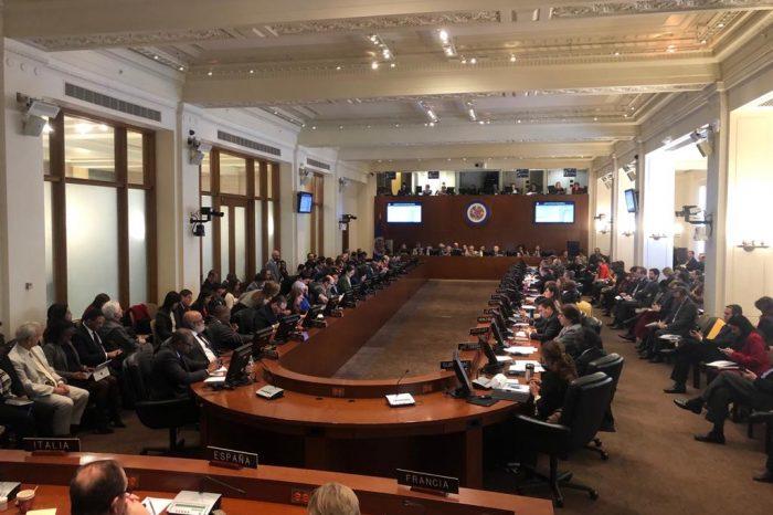 Miembros de la OEA rechazan amedrentamiento a parlamentarios venezolanos