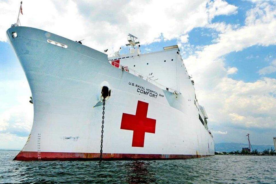 Barco hospital estadounidense visitará 11 países para atender a venezolanos