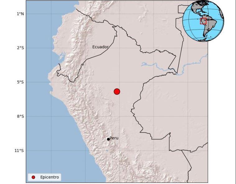 Sismo de gran magnitud se registró en cinco países de Latinoamérica