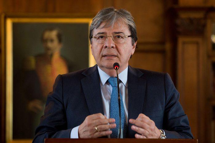 """Canciller colombiano denunció """"atropellos"""" del régimen contra opositores"""