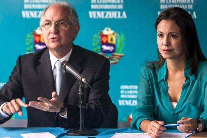 Machado, Ledezma y Arria solicitan a Guaidó invoque una coalición militar