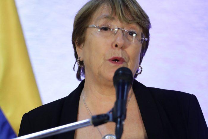 Michelle Bachelet reconoció violación a los Derechos Humanos en Venezuela