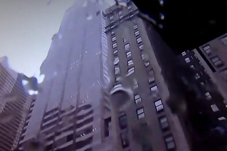 Helicóptero se estrelló contra edificio en Manhattan