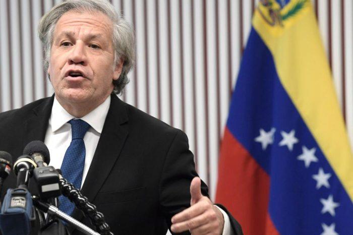 """Almagro apoya a la Unión Europea: """"La dictadura sólo quiere más dictadura"""""""