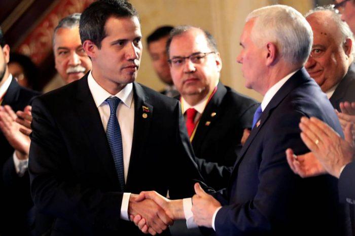 EEUU ratifica su compromiso con Juan Guaidó