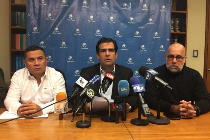 Foro Penal contabilizó 17 detenidos tras marcha del 16Nov