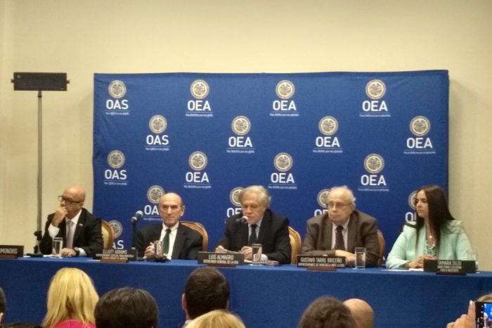 Tamara Suju denunció ante la OEA torturas aplicadas al capitán Acosta Arévalo