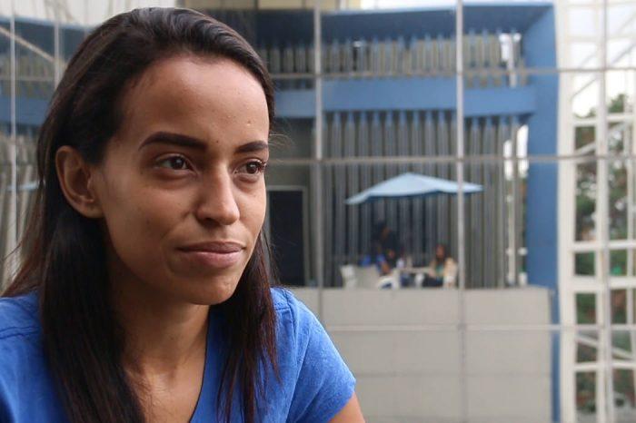 Karen Palacios vive con temor de ser asesinada