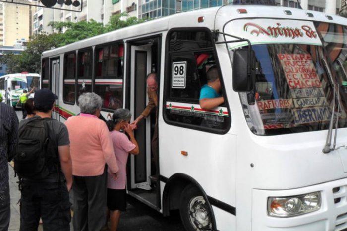 Publicados en Gaceta Oficial nuevas tarifas del pasaje en transporte público