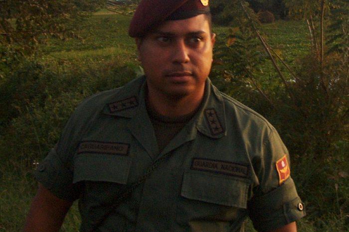 Capitán Caguaripano sufrió desprendimiento de sus testículos por torturas del Sebin