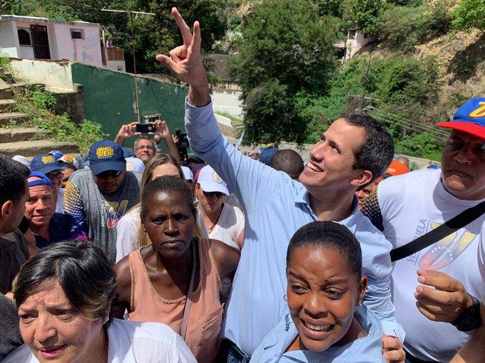 """Guaidó instó a Maduro a ponerse los """"pantaloncitos"""" y convocar elecciones libres"""