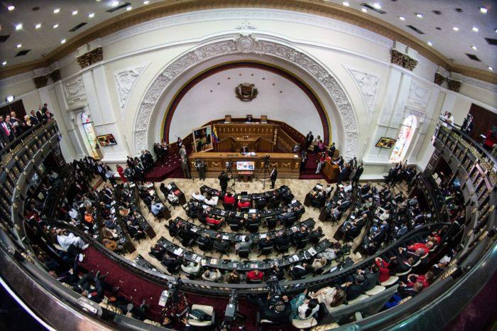 Parlamento venezolano denunció persecución del régimen contra 123 diputados