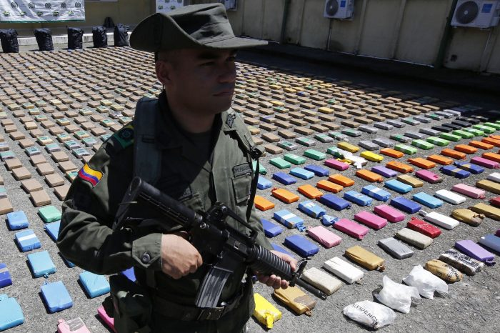 Incautadas 2 toneladas de cocaína en frontera colombo – venezolana