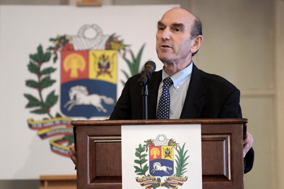 Elliott Abrams descarta intervención militar de EEUU en Venezuela