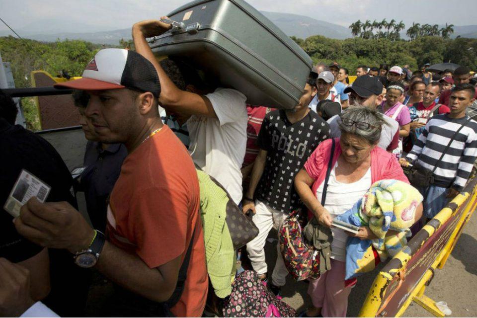 Éxodo venezolano puede llegar a ocho millones de personas en 2020
