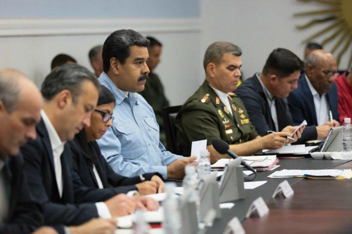 Estos son los nuevos ministros que designó Maduro para su gestión ilegítima
