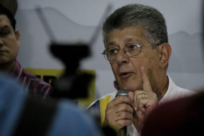 Ramos Allup: Hacemos todo lo posible para que Venezuela coma hallacas en un Gobierno democrático