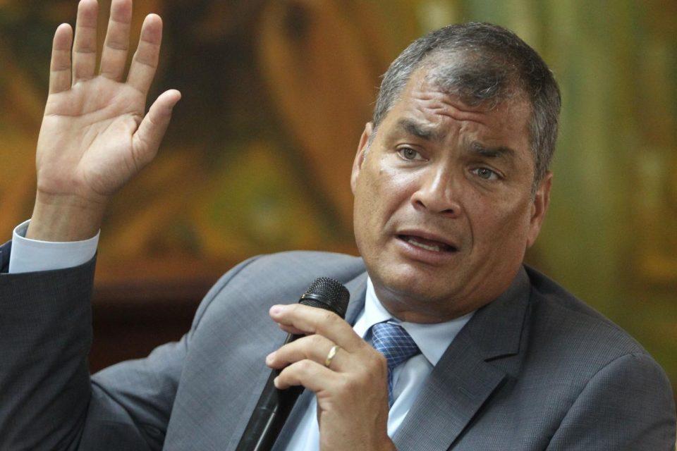 Rafael Correa reapareció en Europa tal como lo dijo el diputado Juan Flores