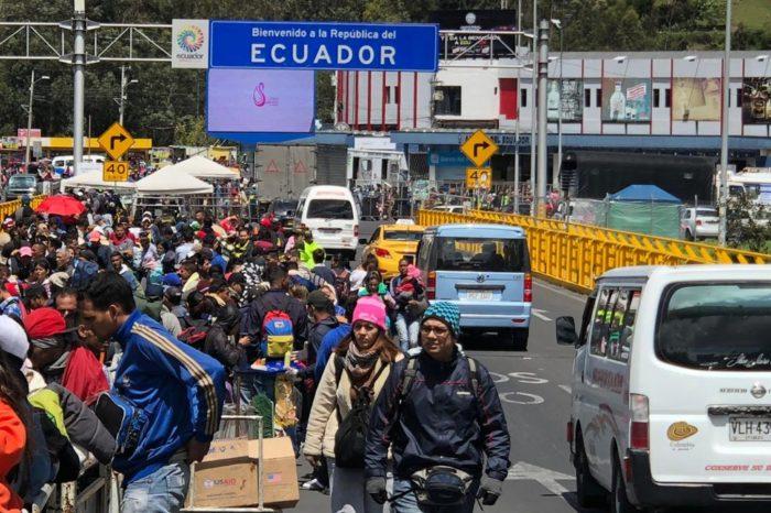 Ecuador anuncia proceso digital de visas para venezolanos a partir del próximo lunes