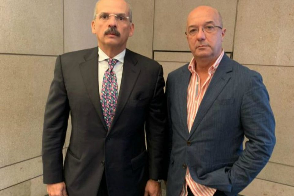 Iván Simonovis y Rebolledo buscan potenciar el Tiar desde Nueva York