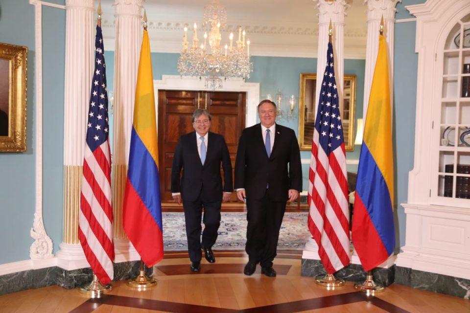 Mike Pompeo y Carlos Holmes Trujillo se reúnen para tratar tema de Venezuela