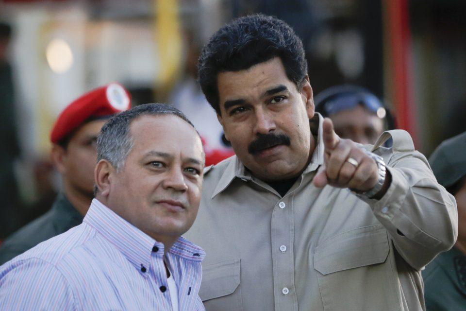 ¿Qué planean? Maduro anunció que envió a Diosdado Cabello a China