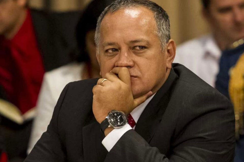 Temeroso Cabello negó que el régimen este detrás de protestas en Ecuador