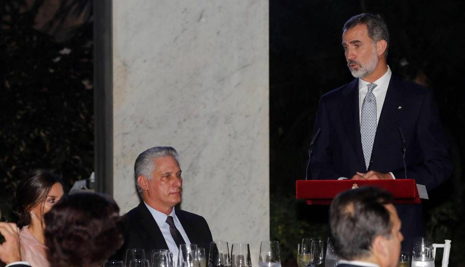 Rey de España no se guardó nada ante Díaz-Canel y le habló de democracia