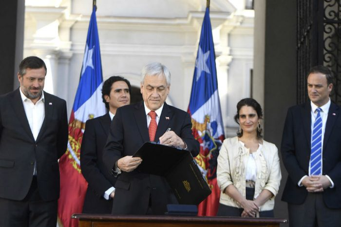 Piñera busca frenar protestas en Chile con un nuevo paquete de leyes