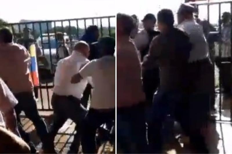 Denuncian irrupción violenta en entrega de embajada de Venezuela en Brasil