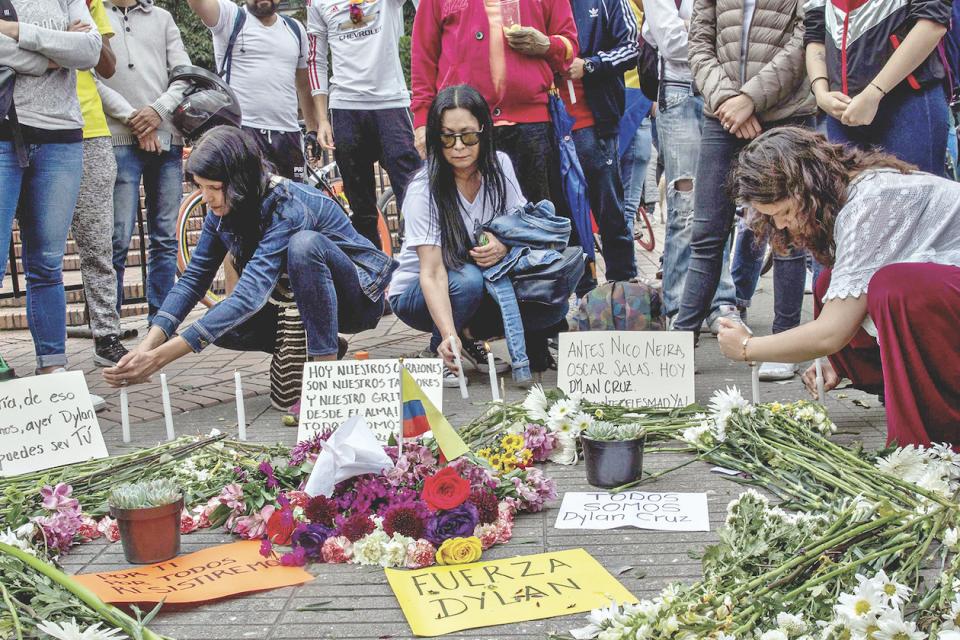 Conmoción en Colombia: Falleció Dilan Cruz joven victima de la represión policial