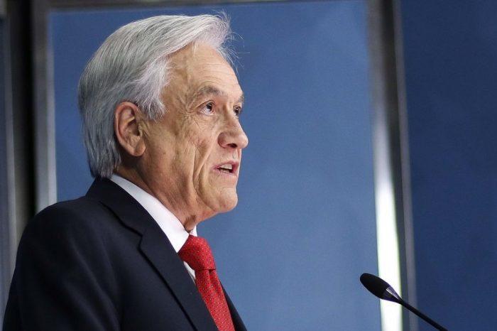 Presidente Piñera descarta dejar el poder a pesar de las protestas
