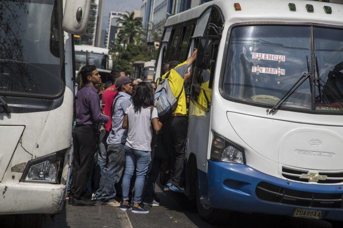 Transporte Unido de Venezuela: pasaje urbano debería ser de Bs. 21 mil 600