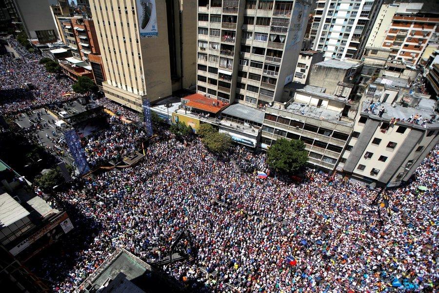 ¡Venezuela despertó! Las fotos más impactantes de las movilizaciones de este 16Nov