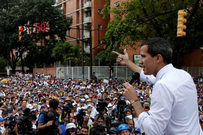 Fotos  Convocatoria de Guaidó movilizó a más de 750 mil personas y activó 141 puntos