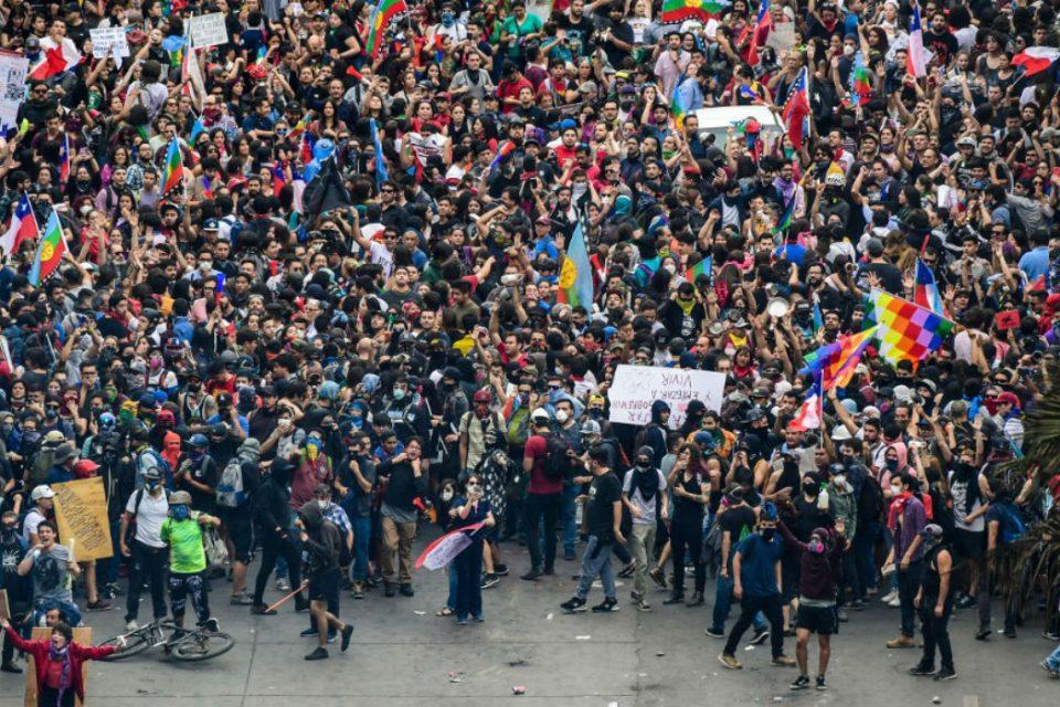 Chile se paraliza con huelga general este 12Nov
