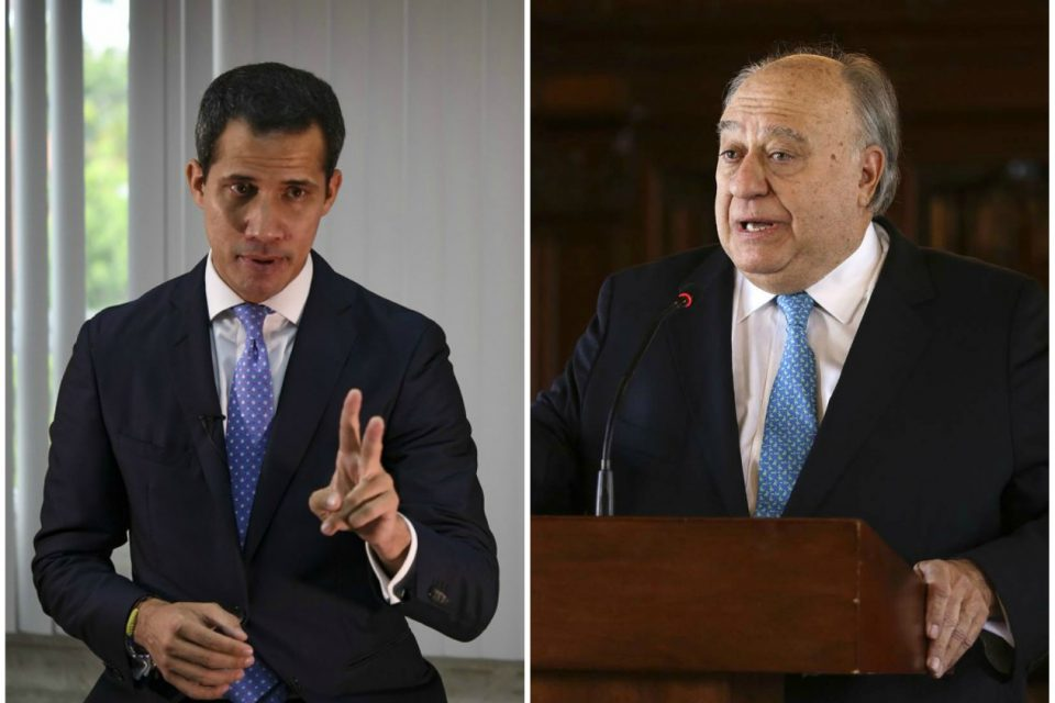 Juan Guaidó mueve sus fichas y destituye a Humberto Calderón Berti