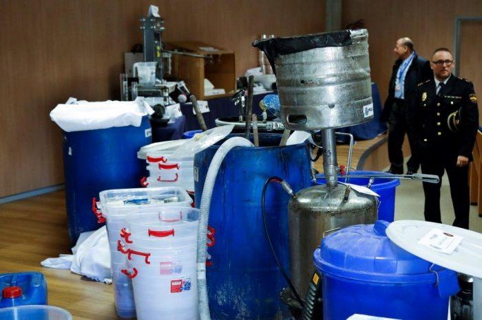 Desmantelan laboratorios de cocaína de las FARC en España