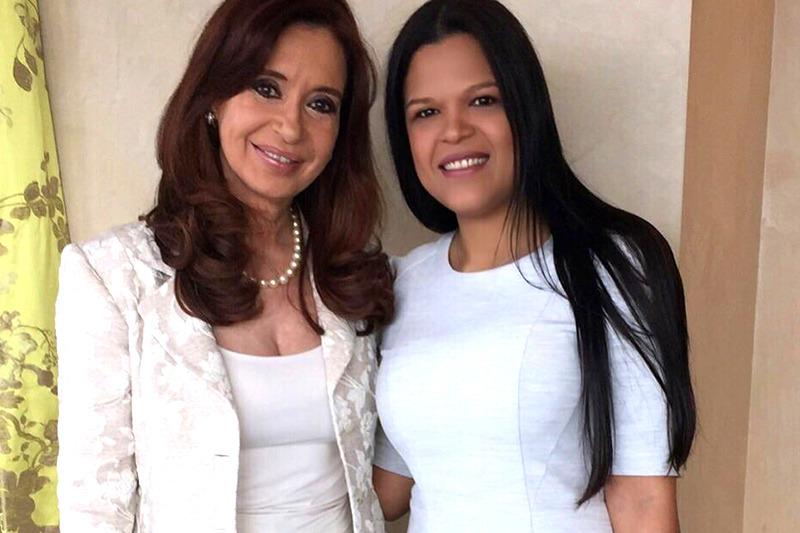 ¿Qué regalo le hizo María Gabriela Chávez a Cristina Fernández de Kirchner?