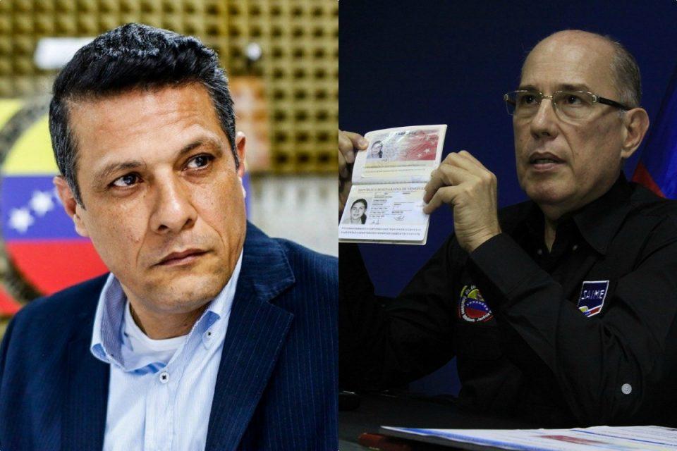 """EEUU anunció sanciones para """"reyes"""" del Saime Gustavo Vizcaíno y Juan Carlos Dugarte"""