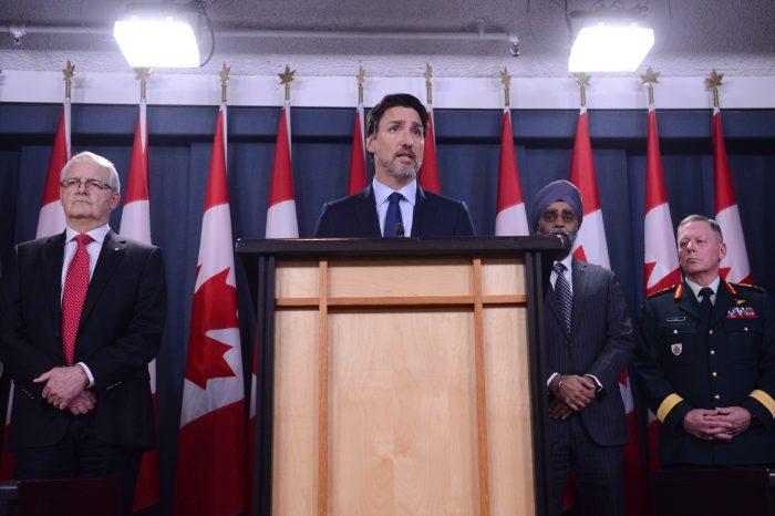 Canadá afirmó que un misil iraní derribó avión ucraniano