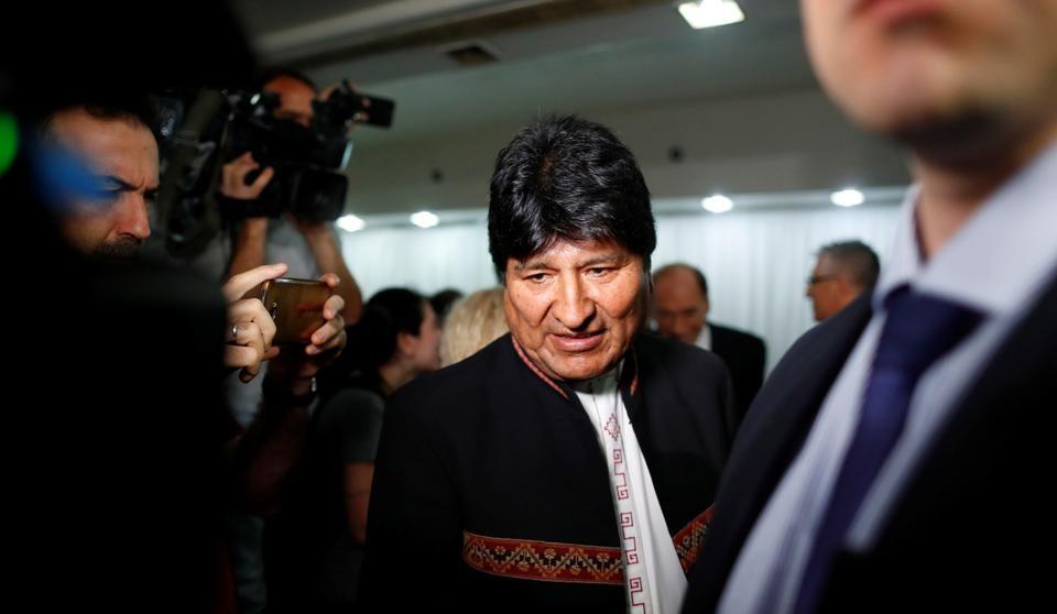"""Bolivia tomará medidas legales ante pretensiones de Morales establecer """"milicias armadas"""""""