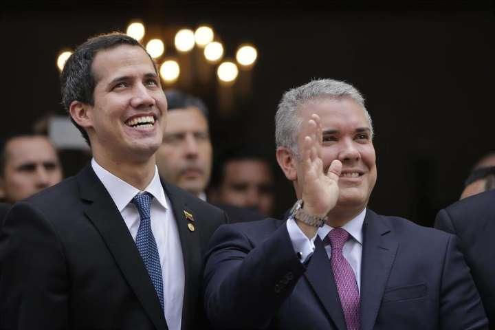 Juan Guaidó e Iván Duque se reencontraran en Davos