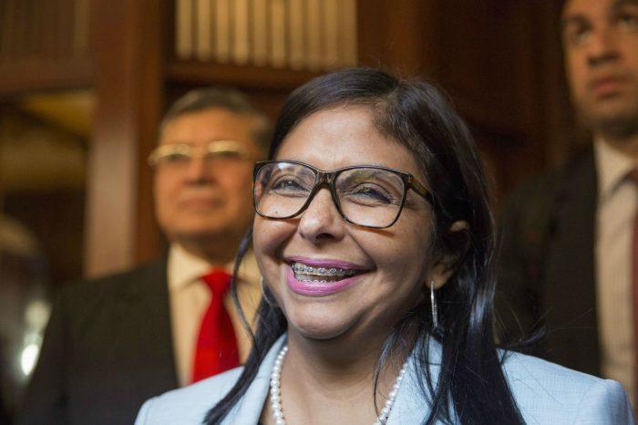Con más de $2 millones financió Delcy Rodríguez a Pablo Iglesias y a sus camaradas podemitas