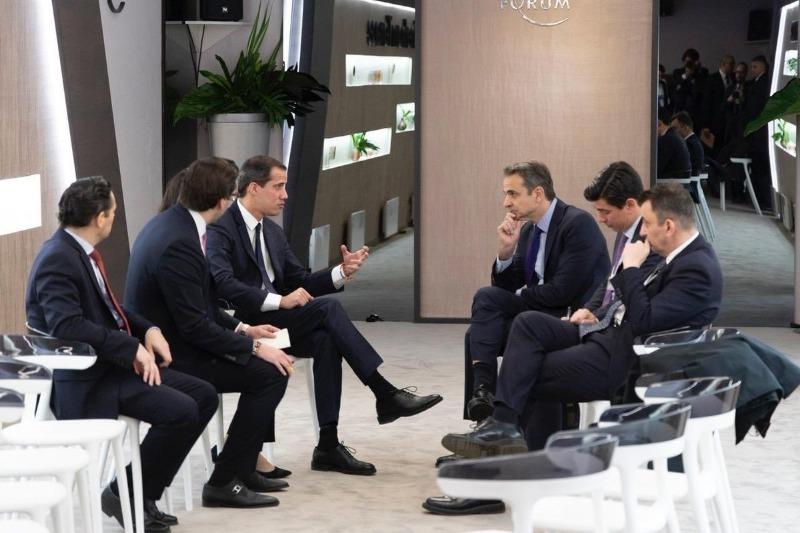 Primer Ministro de Grecia recibió a Guaidó para hablar de crisis venezolana