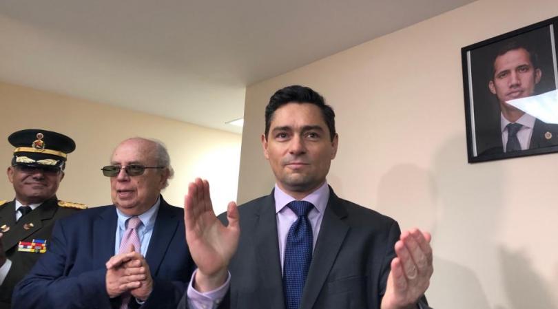 Vecchio: Valoramos mucho el apoyo del presidente Alejandro Giammattei