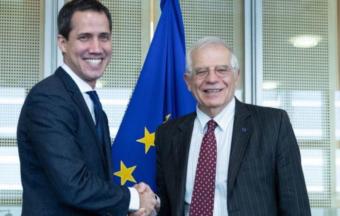 Guaidó y Borrell se reúnen en Bruselas: detalles del encuentro