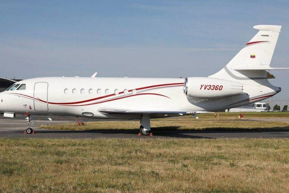 ¡Sin derecho a pataleos! EEUU embargó avión privado usado por Delcy Rodríguez